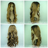 ombre lace front wig - 24 quot B Ombre Lace Wig Full Lace Wigs Human Hair Virgin more than colours in stock price