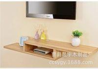 Wholesale TV set top box rack shelf storage shelf idea of finishing factory