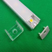 aluminium u channel - Aluminium LED Profile for LED Strip m Light Profile U Channel Slot Light Bar Hot Sale QF AL002