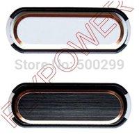 Cheap Wholesale-For Samsung Galaxy Note 3 N9002 N9005 N9006 N9008 N9009 home button Key by free shipping; HQ; 5pcs lot