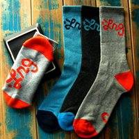 fishing equipment - LRG geans Knit LOGO Terry Crew Socks for Skateboarding Outdoor Sports Clothing Equipment Colors