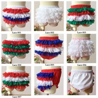 Shorts baby pettipants - Baby lace pettipants girl panties ruffle PP pants underpants toddler ruffled bloomers for baby