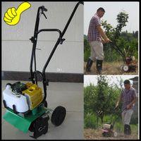 Wholesale 2016 hot sale Economical and practical farming mini tiller machine gasoline hand push walking garden rotary tiller machine