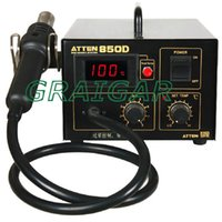 Wholesale SMD tool ATTEN AT850D Hot Air Rework Station anti static and digital display V V for option