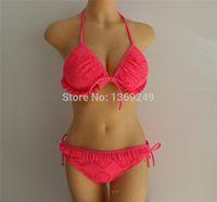 Wholesale Triangle top bikini set swimsuit girl bathing suit