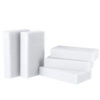 Wholesale 30pcs pack Grey Magic Sponge Cleaner Eraser Melamine Cleaner Eraser Esponja Magica Para Limpeza Cleaning Tools Accessories