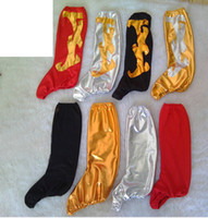 Wholesale The new Hot Special offer Folk dance Boot Cover Red Elasticity Bottomless Shoe Stage performances Tall Shoes