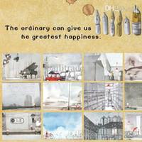 arrival pleasure - 2015 Limited New Arrival Scenic No Happy Pleasure Dream Postcards Korea Bentoy Illustrator Postcard set