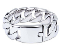 casting jewelry - Fashion domineering titanium steel bracelet men s super thick L stainless steel casting bangle jewelry