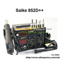 Wholesale SAIKE D Iron Solder Soldering Hot Air Gun in Rework Station V V Upgraded fron SAIKE D
