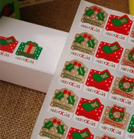 Wholesale 800pcs Christmas Sealing Stickers Labels Packaging Crafts YN