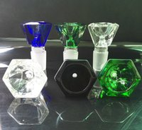glass bowl - 14mm mm Diamond Bowl Large Wide Glass bong bowl diamond shape glass bowls in stock