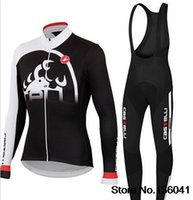 ropa - Ropa Ciclismo Winter Thermal Fleece Cycling bib Kits Long Style Cycling Jersey bib Pants Bike Cycling Clothing