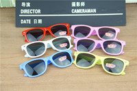 Wholesale Fashion Children Anti UV Light girls boys sunglasses M nail sunglasses candy color sun glasses in stock