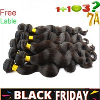 Wholesale Crazy Black Friday Sale Virgin Brazilian Hair Extensions Unprocessed A Peruvian Indian Malaysian Human Hair Weave Body Wave