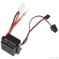 Wholesale RC Engines V A RC Ship Boat R C Hobby Brushed Motor Speed Controller W A BEc ESC AFD_504