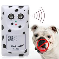 Wholesale Humanely Ultrasonic Anti No Bark Control Device Stop Dog Barking Silencer Hanger order lt no track
