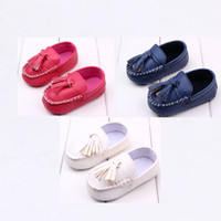 babys first shoes - Babys Leather tassel shoes slip on colorful baby infant shoes tassel moccasins soft leather toddler first walker shoes K016