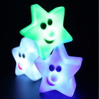 Wholesale Novelty Little Star Table Bedside Lamp LED Dream Night Light