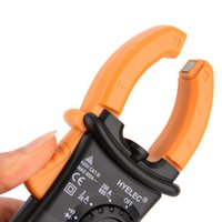 Wholesale Digital Clamp Meter DC AC Volt AC Amp Ohm Tester MS2008A Counts LCD Hot New Arrival