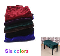 bench with seat - Durable Universal Beautiful Piano Stool Chair Bench Cover Pleuche Decorated with Macrame cm for Piano Dual Seat Bench