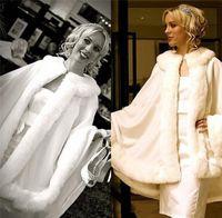 apricot cocktail dress - Warm Winter Cloaks Bridal Faux Fur Shawl Wrap Jackets Fall Evening Cocktail Bridal Girls Wrap Shawls Boleros Jackets Wedding Dresses