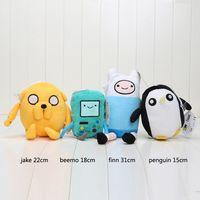 adventure time bag - Adventure time Plush Toys Jake Finn Beemo BMO Penguin Stuffed Toys quot quot in opp bag