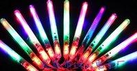 Wholesale 2016 Color LED Flashing Glow Wand Light Sticks LED Flashing light up wand novelty toy