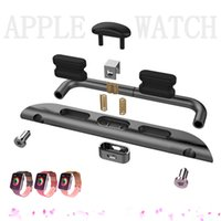 Wholesale For Apple Watch mm mm Convenient Metal Watch Band Adapter Exclusively Designed For Apple Watch Sport Editionapple watch connector