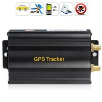 alert tracking systems - TK103A Vehicle Car GPS Tracker Real Time Speed Alert Quad band GSM GPRS Tracking Device System With SD Card Slot