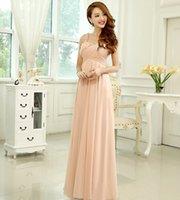 Cheap Grecian Chiffon Bridesmaide Dress 2015 Floor Length Nude Pink Color Wedding Bridemaid One Shoulder Dresses