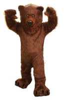 big bear music - Prefesstion Big Grizzly Bear Mascot Costume party suit Adult size