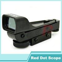 Guangdong,China(Mainland) airgun scope mount - Tactical Red Dot Sight Scope Wide View Airgun w mm Weaver Rail Mounts x20x30 Riflescope Airsoft HT5