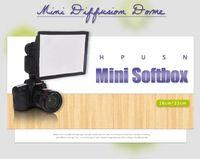 Wholesale Hpusn x22cm softbox speedlite softbox flash diffusers Reflector Photo Studio Accessories Cheap Photo Studio Accessories