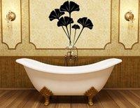 ginko biloba - Ginko Biloba wall paper decals house decoration living room decor murals bathroom sticker