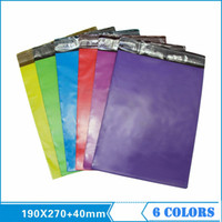 Wholesale Novel Multi Colors Poly Mailer Express PE Bags Size Mailbag Plastic Envelope Courier Mailer Colors Available Selected