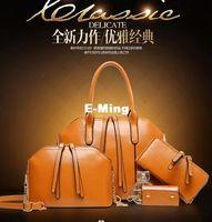 Wholesale New Designer Women Set Fashion Bags Ladies Handbag Sets Leather Shoulder Office Tote Bag Cheap Womens Shell Handbags Sale Hand bag