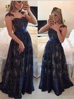 best maternity belts - Real Prom Dress Beaded Applique Vestidos Para Festa Sheer Elegant Party Evening Dress with Belt Best Selling