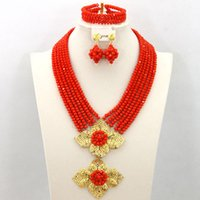 american bridal shops - 2015 Free shopping by DHL african jewelry set Romantic direct selling african beads jewelry set bridal jewelry sets wedding jewelry color