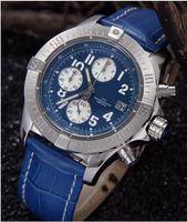Wholesale Sapphire glass Black Luxury Fashion Wristwatches mens watch sports Quartz Chronograph Stainless steel Men s Watches