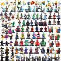 Wholesale TMNT The Simpsons Zombie World Super Hero Ninja Turtles Chima Lord Ring SWAT Avengers No Box building blocks