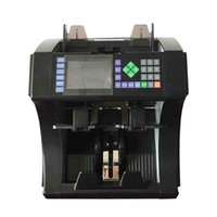 banknote value counter - EC1689 withTwo Pocket currency counter multi banknote counter mixed denomination money counter USD EUR GBP Local Currency Mix Value Counter