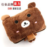electric heating pad - Stephen force plush hot water bottle Hand Po rechargeable electric heating pads Korean version of the explosion proof electric h