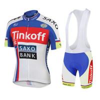 bank mens - mens cycling jersey short sleeve bib shorts saxo bank tinkoff ciclismo mujer maillots de bicicletas bicycle clothing