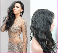for black hair products - Indian Virgin Human Hair Full Lace Front Wig Glueless Loose Wave Wigs for Black Women Hotsale A CARA Hair Products