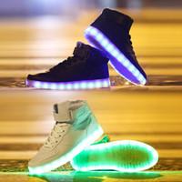 Cheap LED men shoes Best sneakers