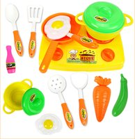 Wholesale Gifts for Baby set Kitchen Toys Set Classic Toys Pretend Play Simulation Role Playing Toys Educational Toy