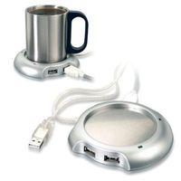 electric water heater - in1 Port USB Hub Flash Drive Pad Coffee Tea Water Beverage Cup Mug Glass Electric Warmer Heater