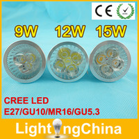 mr16 led - Promo LED Bulbs E27 GU10 MR16 Spotlight W W W Dimmable Warm White Pure White Cool White Years Warranty