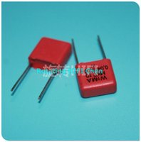 Wholesale 2015 Sale New Red Wima Capacitor mkp10 nf v uf v P mm For Audio Coupling Rushed Real
